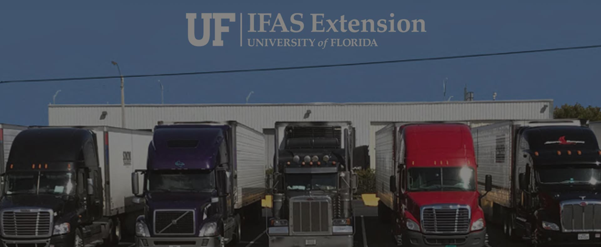 Protecting Perishable Foods During Transport by Truck and Rail, UF/IFAS Extension