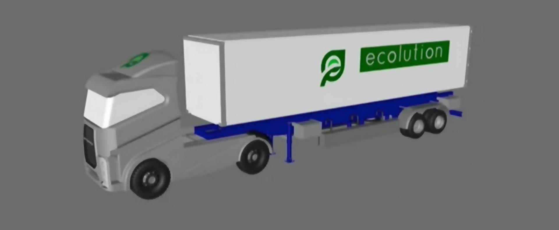 Computer Rendering of Ecolution Truck